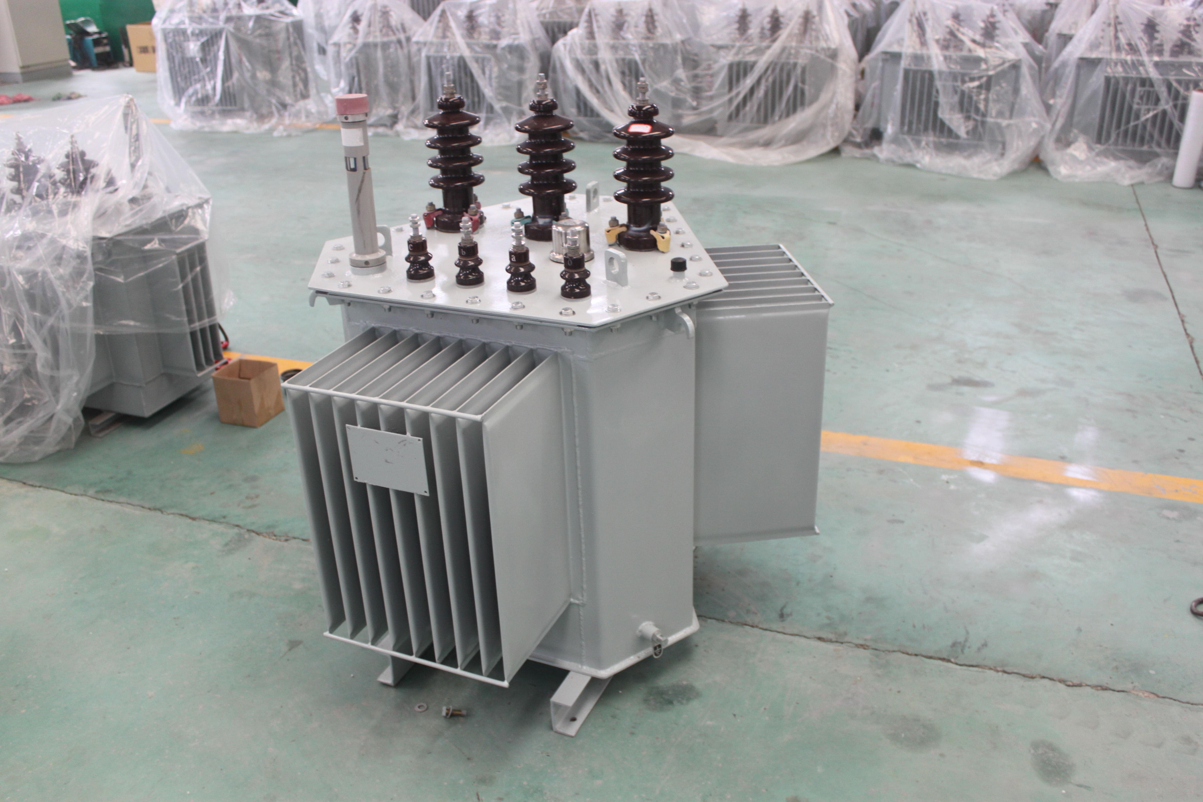 立体巻鉄心油浸式变压器