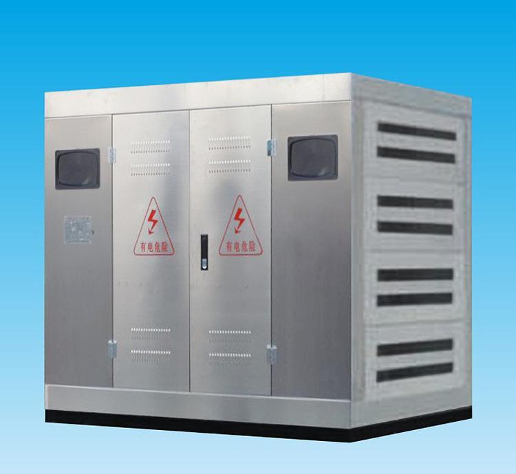 干式变压器保护装置3D演示